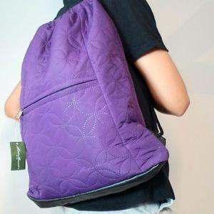 Eddie Bauer   Gym Bag Purple Quilt Style